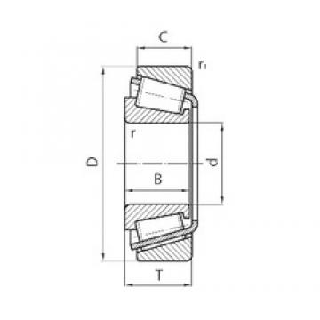 FLT 514-809 tapered roller bearings