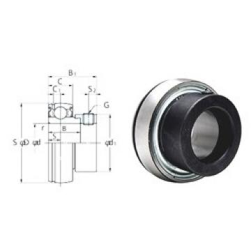 FYH SA207-22F deep groove ball bearings